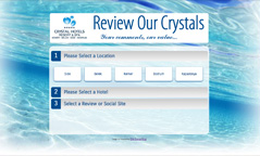 CRYSTAL REVIEW HOTELS
